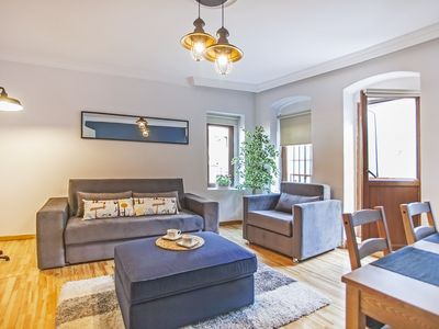 Photo for Sea view elegant apartment with balcony near Galata Tower