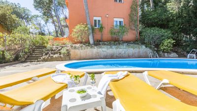 Photo for 4 bedroom Apartment, sleeps 7 in Llafranc with Pool and WiFi