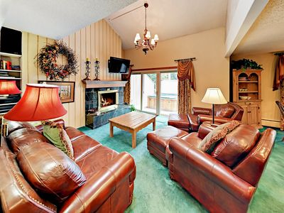 Photo for Creekside 3BR/3BA - Hot Tub & Deck - Near Free Shuttle, Village, Skiing, Golf