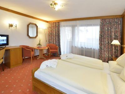Photo for Wetterstein double room - Hotel Residenz Hochland