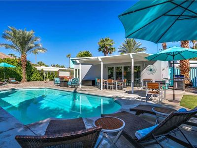 Photo for Racquet Club Retreat: 4 BR / 2 BA home in Palm Springs, Sleeps 8