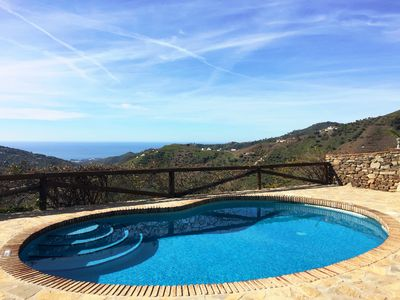 Photo for Finca Ortiz with private pool for 6 people and fantastic views