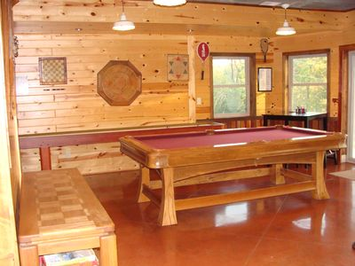 Photo for The Lodge - Custom Cabin Nestled in the Woods close to Decorah