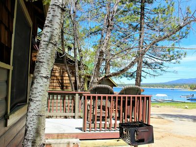Photo for ~Lupine Cabin~Furnished Single Story Lakeview Resort Cottage~Walk To Village/Marina~