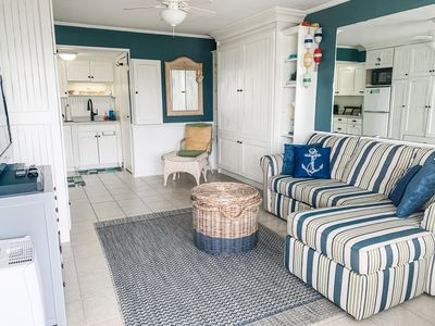 Photo for NEW LISTING ~ Beautiful Bogue Shores Studio Condo with Beach & Sound Access
