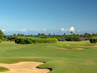 Photo for Gorgeous Golf Course and Ocean Views at Hualalai Resort