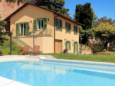 Photo for Nice apartment for 3 people with pool, WIFI, TV, pets allowed and parking