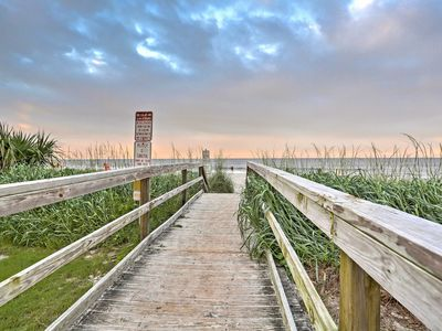 Photo for Myrtle Beach Townhome w/Elevator, 1 Block to Beach