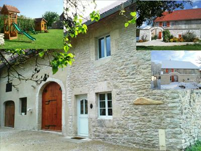 Photo for Gite 4 stars in the center of Jura between waterfalls, lakes and mountains of Jura