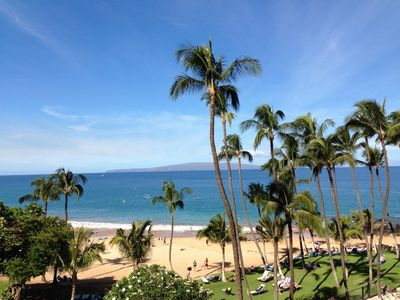 Photo for OCEAN FRONT CONTEMPORARY UNIT ON MAUI'S BEST BEACH