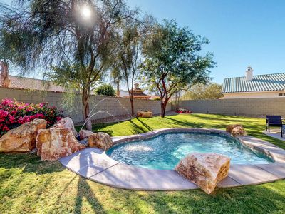 Photo for NEW LISTING! Stylish, remodeled home with private pool and mountain views