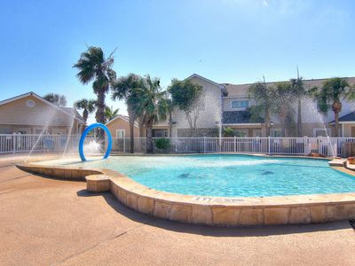 Photo for NEW LISTING! Charming, dog-friendly townhome w/ shared pools - walk to the beach