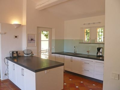 Photo for House 1.3 km from the center of Sainte-Maxime with Internet, Pool, Air conditioning, Parking (115451)