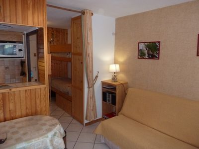 Photo for APT 4 Pers Renovated Classified 2 ** AT THE FOOT TRACKS & ESF-GUARDIAN-WIFI-BALCONY