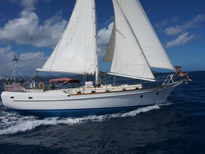 Photo for Caribbean holidays in a 44ft sailing boat