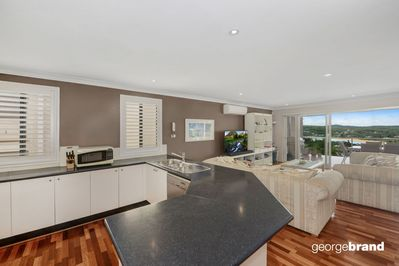 Fully equipped kitchen and open plan living at Copacabana Chill Out