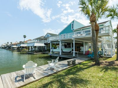 Photo for NEW LISTING!Beautiful canal front home w/ palapa, & hot tub