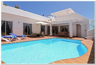 BEAUTIFUL PRIVATE HEATED POOL AT 28c ALL YEAR ROUND.