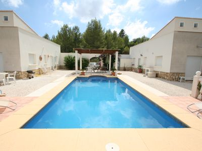 Photo for A Dénia 2 villas with private pool side by side for 13 people