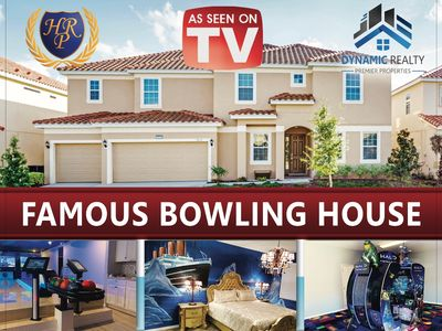 Photo for AS SEEN ON TV  VACATION, HALO,PROJECTORS, BOWLING, ARCADE, HOLLYWOOD THEMED HOME