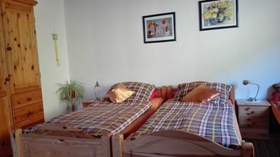 Photo for Apartment 30sqm, 1 living room / bedroom, max. 3 people - Haus am Bach