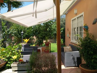 Photo for the beach house a stone's throw from the center of Rome and 10 min. from Roma airport