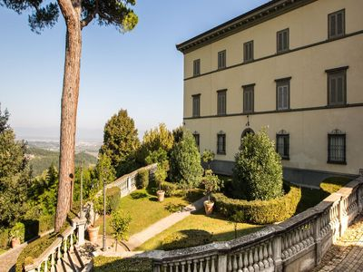 Photo for Valley-view Apartment in San Miniato with Swimming Pool