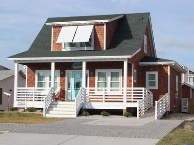 Photo for Classic Nags Head style cottage...all new in 2015!
