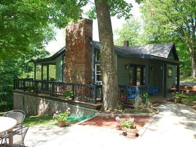 Photo for Rhinebeck Dream Cottage, in the Woods, Catskill Mountain Views