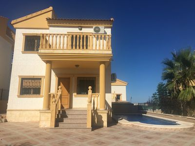 Photo for Villa Rose: A speciaous 3bedroom, 2 bathroom villa with a privet swimming pool.