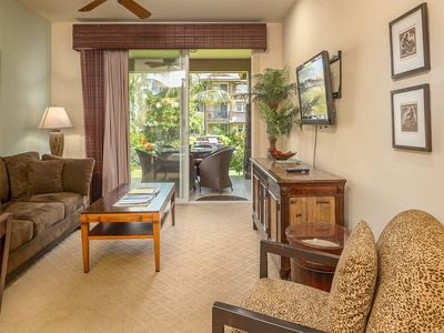 Photo for Stay in Style! Kitchen, Lanai, WiFi, Laundry, Flat Screen, A/C+DVD–Hali`i Kai Waikoloa 22B
