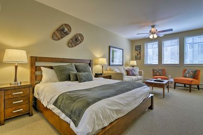You're sure to love the warm and inviting interior!
