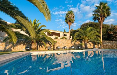 Photo for VILLA PALMERAIE 700m² - SWIMMING POOL WITH SEA VIEW