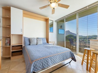 Photo for Stylish OV Studio w/Kitchenette Ease, Lanai, WiFi, AC+Flat Screen–Waikiki Grand 608
