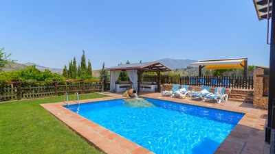 Photo for Gorgeous holiday home with heated pool and rustic vibes near Mijas