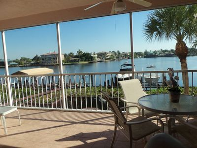 Photo for 1st Floor 3 Bedroom 2 Bath, Bay Water Views,  Steps To Beach!  Booking Fall
