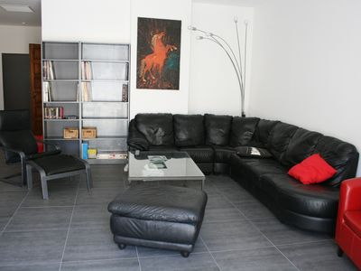 Photo for Beautiful apartment loft Perpignan city center