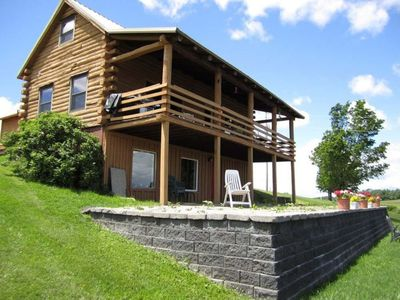 Photo for Cooperstown Dreams Park Log Home weekly rental