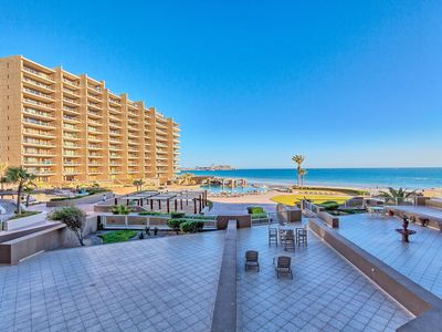 Photo for 2nd Floor Luxury Ocean Front Condo Steps Away From the Beach and Pools