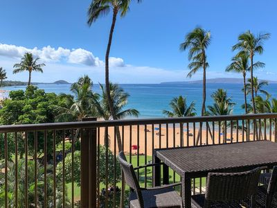 Photo for The Ultimate Maui Beach Condo Experience: Remodeled, On The Sand at Keawakapu