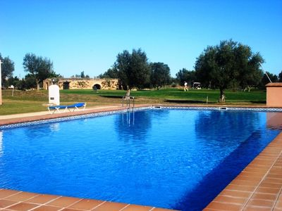 Photo for 1st line in Campo GOLF PANORAMICA with POOL and near BEACH (Ground Floor)