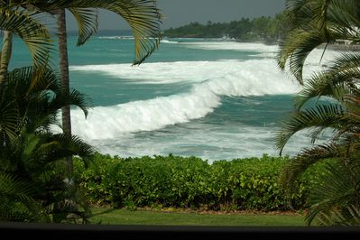 waves and white water in your backyard