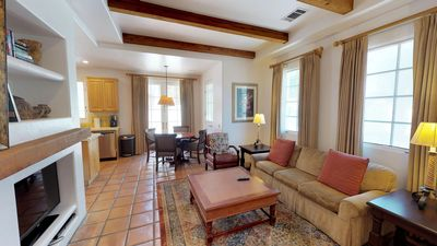 Photo for A Downstairs One Bedroom Spa Villa with a King Bed Close to Spa La Quinta!