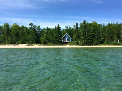 Photo for Private Beach Front Home On Lake Huron (Between Cheboygan & Rogers City)