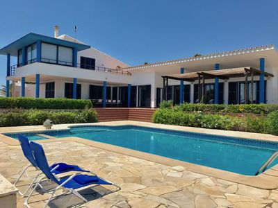 Photo for VILLA THALASSA IN THE SEA FRONT LINE - 10% DISCOUNT IN MAY/JUNE