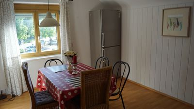 Photo for A large apartment up to 8 people, 3 minutes walk to the festival.