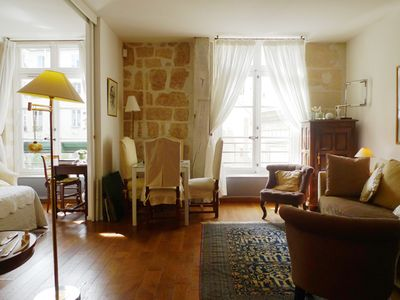 Photo for Exquisite apartment along the Seine - Sleeps 4 - St. Germain – Paris