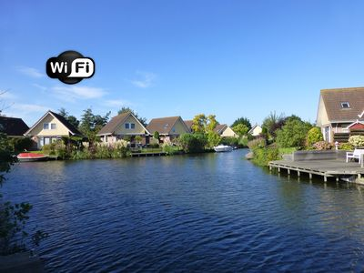 Photo for ** Holiday house IJsselmeer **, lovingly furnished with garden u. Jetty. WIRELESS INTERNET ACCESS!