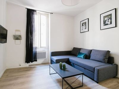 Photo for NICE AND WARM 60SQM APARTMENT - HYPER CENTER