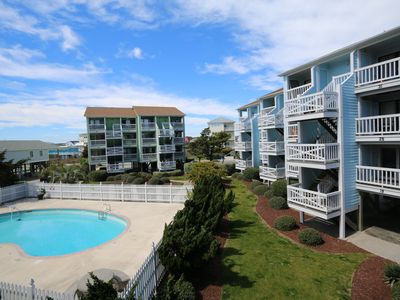 Photo for Seascape D20-Bright and beachy ocean view one bedroom condo on the North End